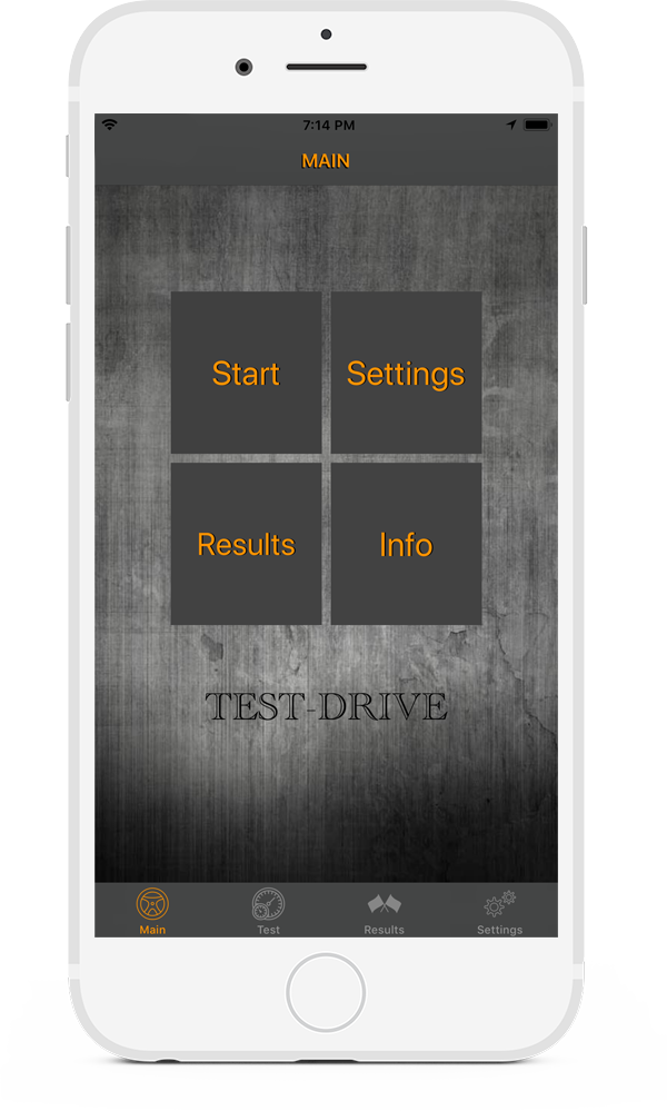 Test-Drive interface